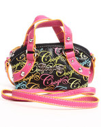 Coogi Women Viola Signature Cross Body Handbag Mul