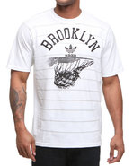 Men Brooklyn Nets Rainin Tee White X-Large