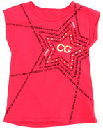 Coogi Girls Coogi Star Tee (7-16) Red X-Large