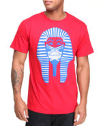 Drj Underground Men Masked King Tee Red Medium