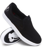 Men No Strings Attached Slip-On Sneakers Black 10