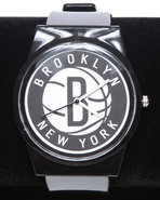 Men Brooklyn Nets Pantone Nba Flud Watch Black