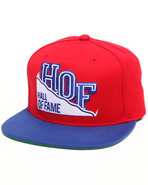 Hall Of Fame Men Mountain Snapback Cap Blue