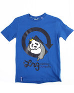 Lrg Boys The Homeboy Panda Tee (8-20) Blue 14/16 (