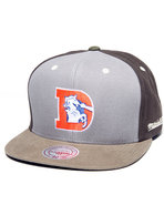 Men Denver Broncos Nfl Throwback Clay Snapback Cap