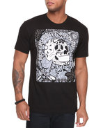 Wesc Men Los Muertos Tee Black Medium