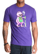 Men Drank Tee Purple Medium