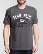 Men East Coast Division Better Tee Charcoal Large