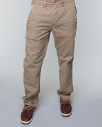 Men Chino Slim/Straight Pant Khaki 36X33