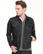 Men Myrtle Denim Jacket Black X-Large