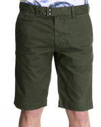 Men Chi-Tight Cotton Stretch Short Olive 38