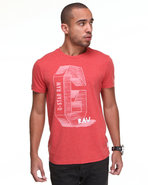 G-Star Men Cosmos S/S Tee Red Xx-Large