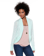 Djp Basics Women's Shawl Collar Open Cardgian Teal