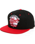 Men Slider Snapback Cap Black