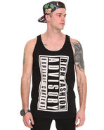 Men Rich Advisory Big Tank Black Small