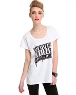 Women's Melting Rich Advisory Tee White Large