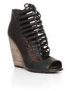 Steven By Steve Madden Women's Simmona Wedge Black