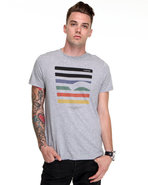 G-Star Men Coppi Multi Stripe S/S Tee Grey Medium