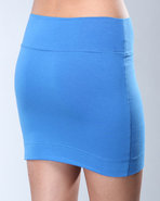 Djp Outlet Women's Angelina Skirt Blue Large