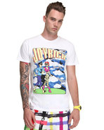 Men Joyrich Comic Tee White Small