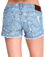 Women&#39;s Remy Low Rise Star Print Cut Off Short Med