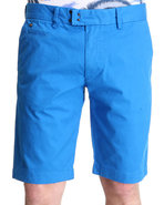 Men Chi-Tight Cotton Stretch Short Blue 34