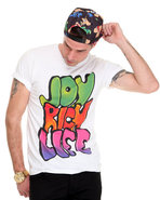 Men Joyrich Graffiti Tee White Small
