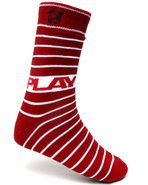 Men Horizon Socks Red