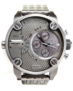 Men Unisex Little Daddy Gun Metal 51Mm Face W / Br