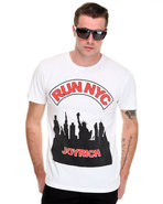 Men Run Nyc Tee White Medium