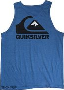 CLEAN SWEEP TANK Medium Heather Blue