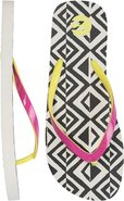 SANDY DUNES FLIP FLOP Black/White