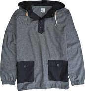 HOVARD HOODED LS SHIRT Large