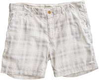 LIGHT GREY GEO WALKSHORT