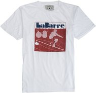 LA BARRE SS TEE Medium Charcoal Gray