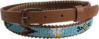 RIP CURL LAKOTA BEADED BELT Tan Beige