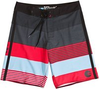 KOMPLETE BOARDSHORT RED