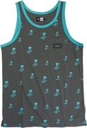 ROYAL PALMS TANK Large Charcoal Gray