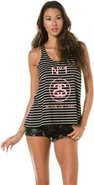 Stussy Striped Split Tank