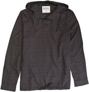 CEDAR LS HOOD SHIRT Large Charcoal Gray