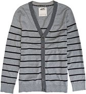 GLISAN CARDIGAN SWEATER Medium Cement Gray