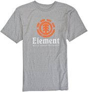 VERTICAL SS TEE Medium Heather Gray