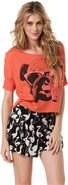 CORINNE LAN FRANCO F.A. CROP TEE Large
