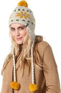 DAZED BEANIE Natural White