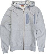 RUSSELL ZIP FLEECE Large Heather Gray