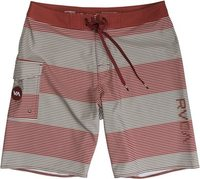 Civil Stripe 20In Boardshort Red