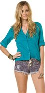 POCKET BUTTON UP TOP Large