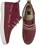 YACHT MASTER MID SHOE Burgundy Red