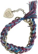 BRAIDED THREAD CHAIN BRACELET
