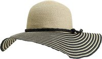 BUNGALOW SUN HAT Natural White